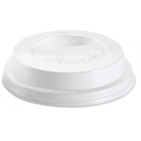 Tampa Perfurada Copo Branco 10 Oz/300 ml (1000 Uds)
