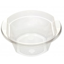 Tigela de Plastico PS Cristal 630ml Ø16cm (10 Uds)