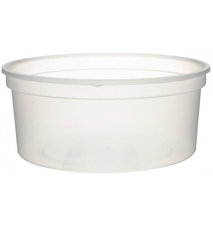 Embalagem Plastico Redondo Transp. 350ml  Ø11,5cm (500 Uds)