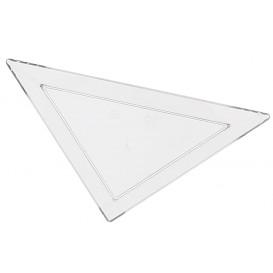 Prato Plastico Triangular Degustação 5x10cm (576 Uds)