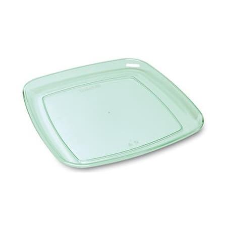 "Bandeja Plastico Quadrada ""Water Green"" 35x35cm (5 Uds)"