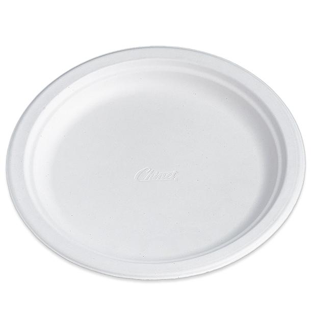 Prato de Cartão Chinet Redondo 240 mm (100 Unidades)