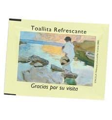 Toalhinhas Limão Refrescantes Sorolla (100 Unidades)