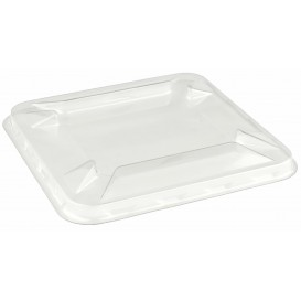 Tampa de Plastico PET para Tigela Mini 90x90mm (300 Uds)