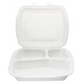 Embalagem Foam PortaMenus 3 Compartimientos (125 Uds)