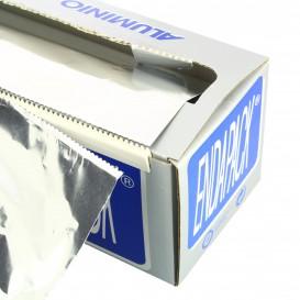 Folha Aluminio 40 cm x 300 metros 13 micras 4Kg (6 Ud)