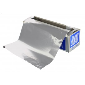 Folha Aluminio 30 cm x 50 metros 11 Microns (1 Ud)