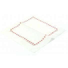 Toalhas de Papel ZIGZAG Vermelho (25.000 Unidades)
