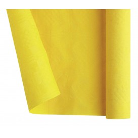 Toalha Papel Rolo Mesa Amarelo 1,2x7m (25 Uds)