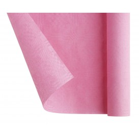 Toalha Papel Rolo Mesa Rosa 1,2x7m (25 Uds)