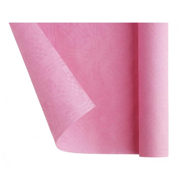 Toalha Papel Rolo Mesa Rosa 1,2x7m (25 Uds)