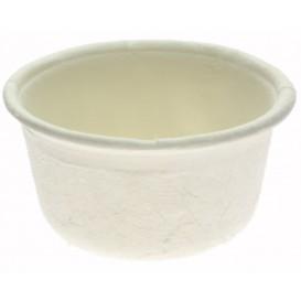 Copo Bio Molhos cana-de-açúcar Branco Ø62mm 60ml (250 Uds)