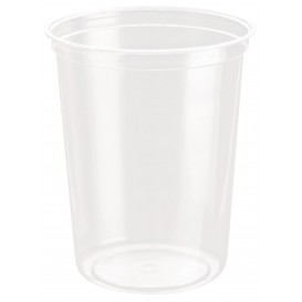 Embalagem Plastico rPET DeliGourmet 32oz/946ml (50 Uds)