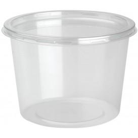 Embalagem Plastico rPET DeliLite con Tampa 24,6 Oz/700ml (50 Uds)