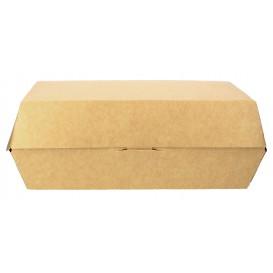 Embalagem Cartao Sanduíche Kraft 20x10x4cm (25 Uds)