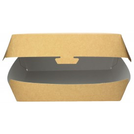 Embalagem Cartao Sanduíche Kraft 20x10x8cm (200 Uds)