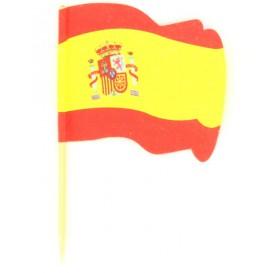 """Pick Bandeira """"Espanha"""" 65mm (14.400 Uds)"""