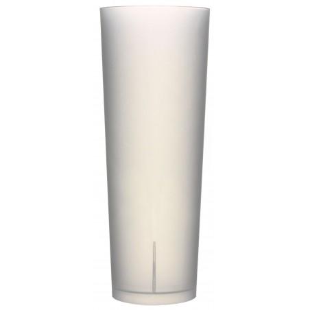 Copo Reutilizável Ecológico Tubo 330ml PP (10 Uds)