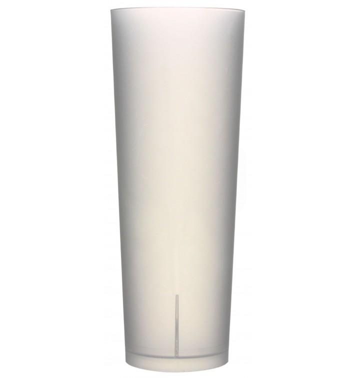 "Copo Tubo Reutilizável Plastico PP ""Frost"" 330ml (420 Uds)"