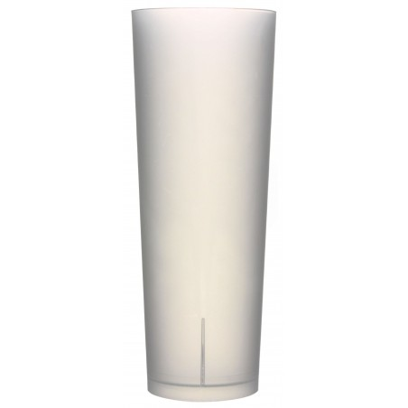 Copo Reutilizável Ecológico Tubo 330ml PP (420 Uds)