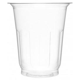 Taça de Plastico PET Cristal 235ml Ø8,1cm (50 Uds)