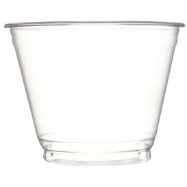 Taça de Plastico PET Cristal 270ml Ø9,3cm (50 Uds)