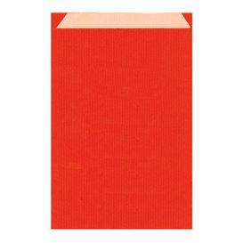 Saco de Papel Kraft Vermelho 26+9x38cm (125 Unidades)