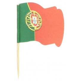 "Pick Bandeira ""Portugal"" 65mm (144 Uds)"