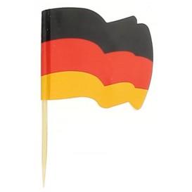 """Pick Bandeira """"Alemanha"""" 65mm (14.400 Uds)"""