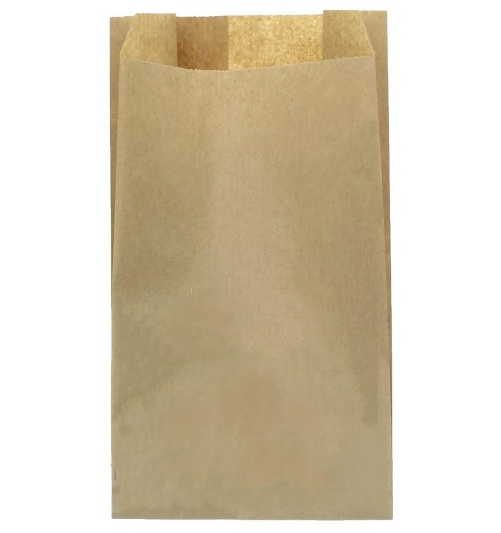 Saco de Papel Kraft 14+7x24 cm (100 Unidades)
