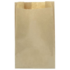 Saco de Papel Kraft 22+12x36 cm (100 Unidades)