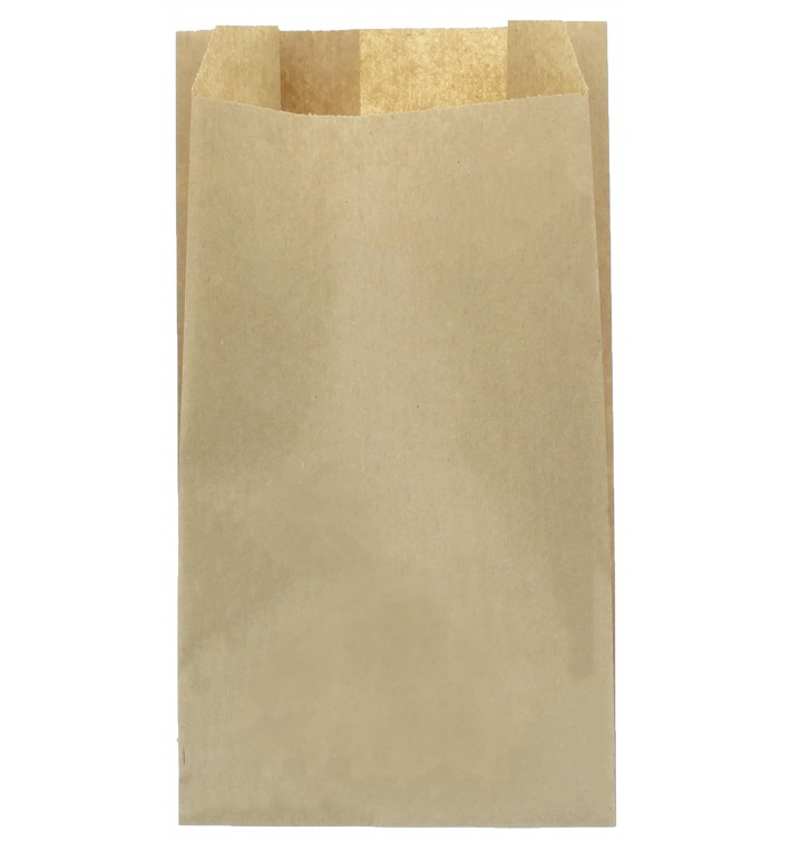Saco de Papel Kraft 22+11x42cm (100 Unidades)