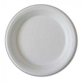 Prato Isopor Branco 225 mm (600 Unidades)