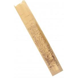 Saco de Papel para Pão Kraft 9+5+50 cm (100 Unidades)