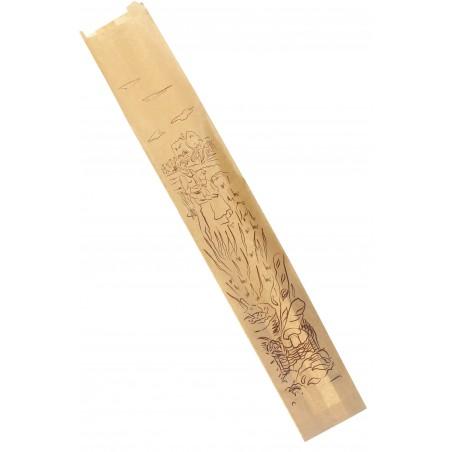 Saco de Papel para Pão Kraft 9+5+50 cm (1000 Unidades)