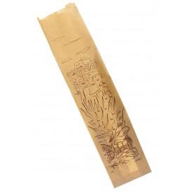 "Saco de Papel ""Siega"" Kraft 12+6x50cm (250 Unidades)"