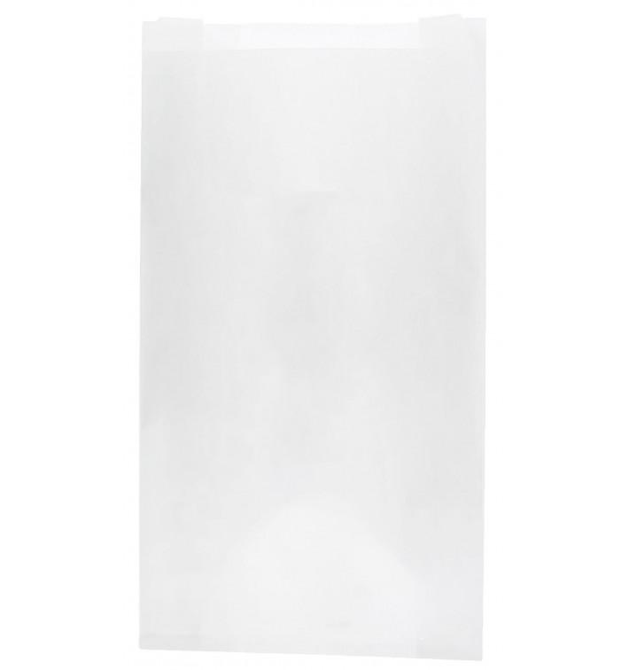 Saco de Papel Branco 12+6x20 cm (250 Unidades)