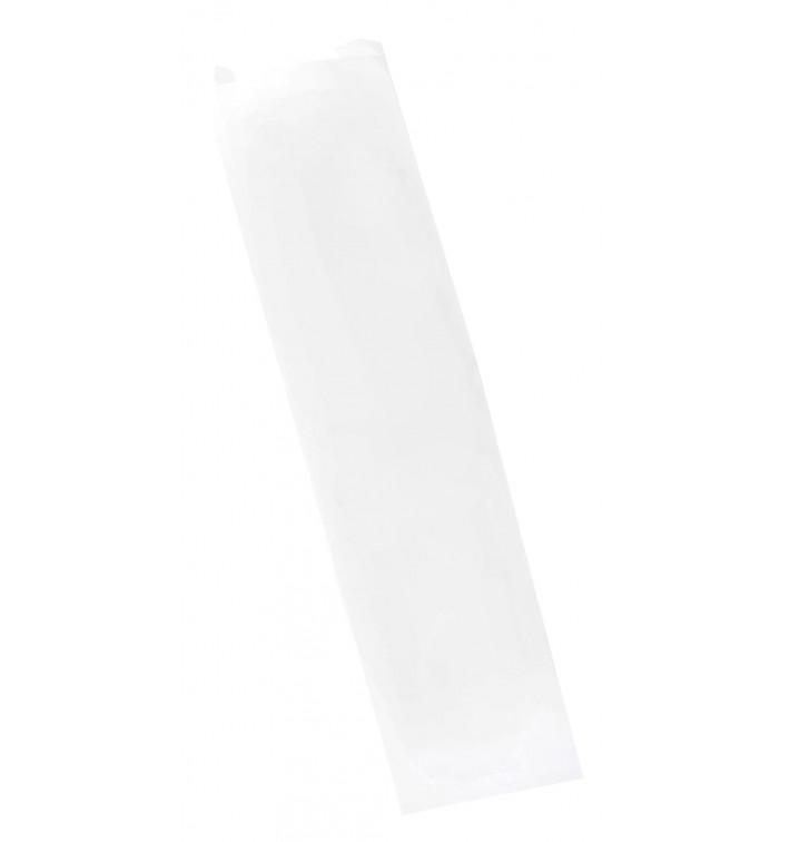 Saco de Papel Branco 9+5x32 cm (250 Uds)