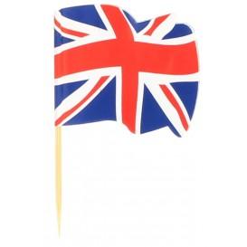 """Pick Bandeira """"UK"""" 65mm (14.400 Uds)"""