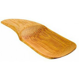 Colher Bambu Degustação 10x4cm (144 Uds)
