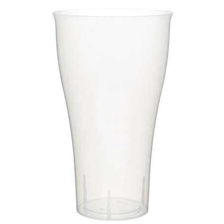 Copo Plastico Transparente PP 430ml (15 Uds)