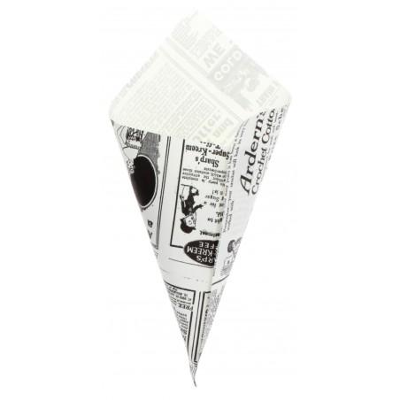 Cone de Papel Antigordura 200mm 70g (250 Uds)