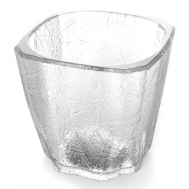 """Copo Reutilizáveis SAN Mini Drink """"Cube"""" 200ml (96 Uds)"""