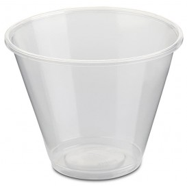 Taça de Plastico PP Transp. 280ml Ø9,4cm (50 Uds)