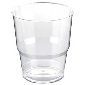 Copo Plastico Embalado PS Cristal Duro 250ml (50 Uds)
