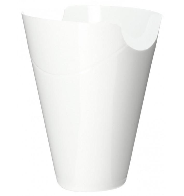 "Embalagem Degustação ""Click-Clack"" PP Branco 80ml (20 Uds)"
