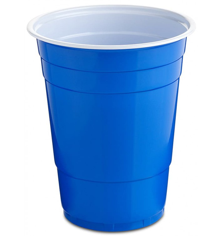 Copo de Plastico 550 ml Azul (25 Unidades)