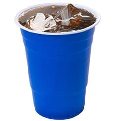 Copo de Plastico 550 ml Azul (400 Unidades)