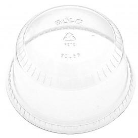 Tampa Cúpula Fechada PET Cristal Ø9,2cm (50 Uds)