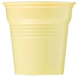 Copo de Plastico PS Creme 80 ml Ø5,7cm (50 Uds)
